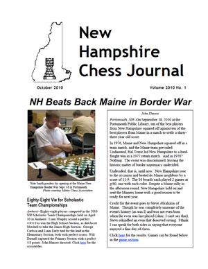 NH Chess Journal 2010