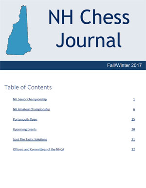 NH Chess Journal Fall/Winter 2017