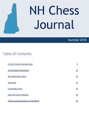 NH Chess Journal Spring 2016