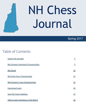 NH Chess Journal Summer 2017